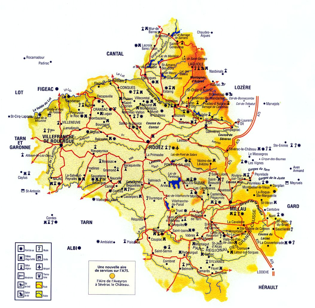 aveyron-carte-routiere